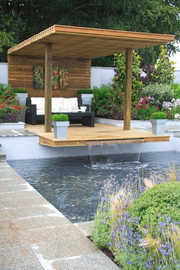 Gartenpool - Gartengestaltung mit Swimmingpool