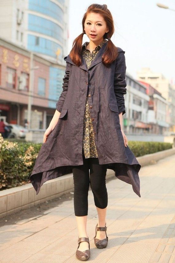 Love the shape of this coat!