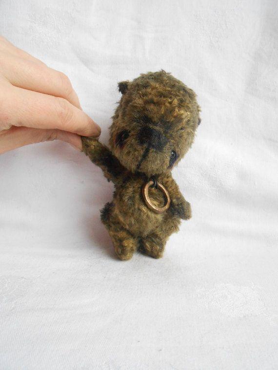 Artist bear made to order by Sylvie Touzard by UnOursonsurLaLune, $135.00