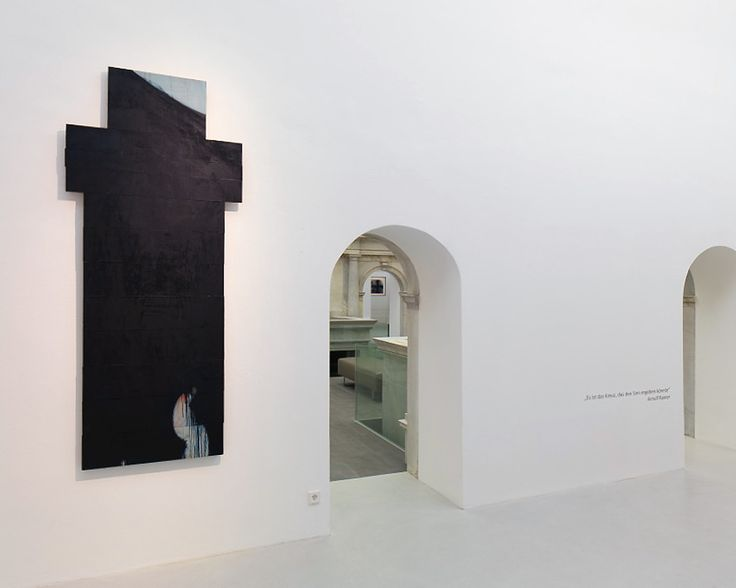 "Arnulf Rainer Museum, Photo: Gorisek Exhibition view ""CROSS"""