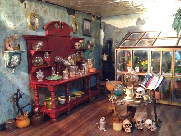 46 Best Images About 1 4 Witches House Diorama On