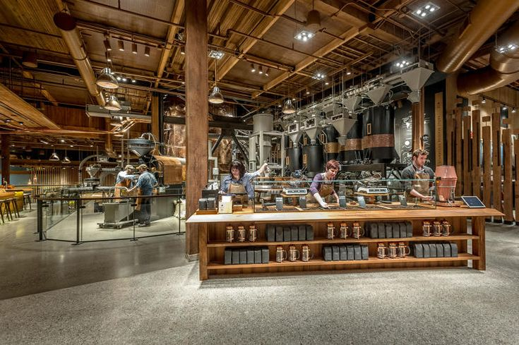 The World's Largest Starbucks Is The Willy Wonka Factory Of Coffee | Co.Design | business + design