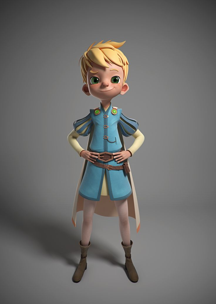 The King's Son by Leonardo Rezende | Cartoon | 3D | CGSociety