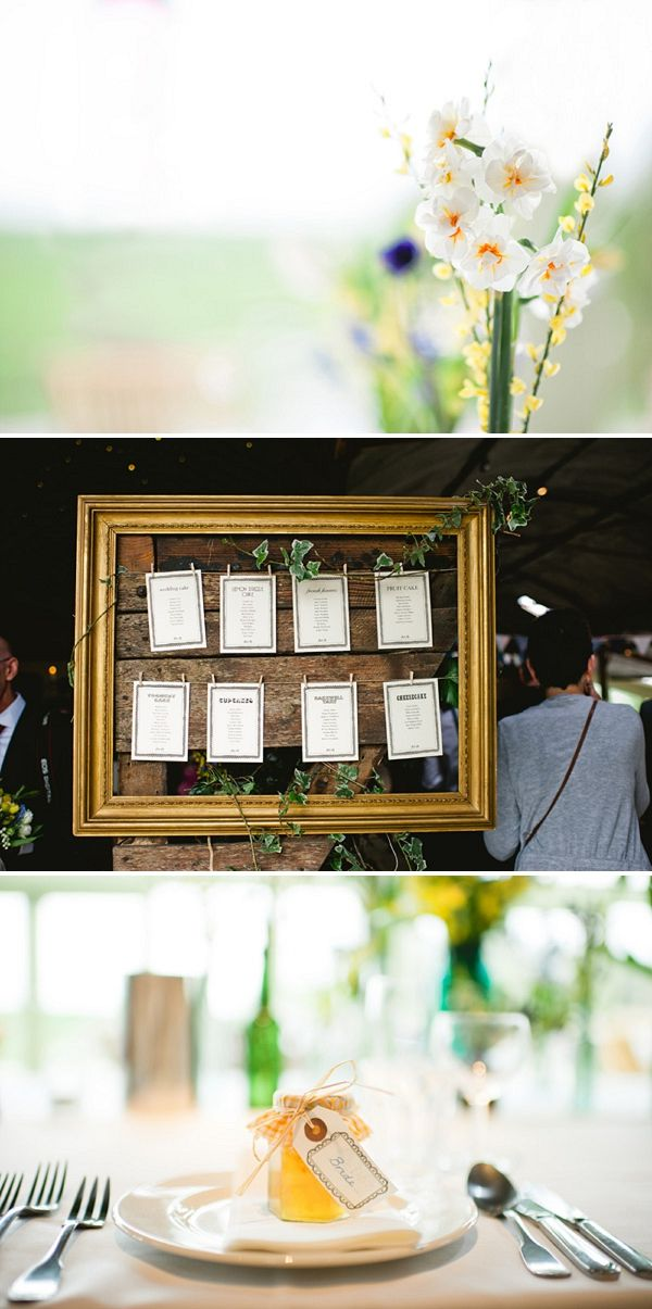 Table plan with mini pegs and lines