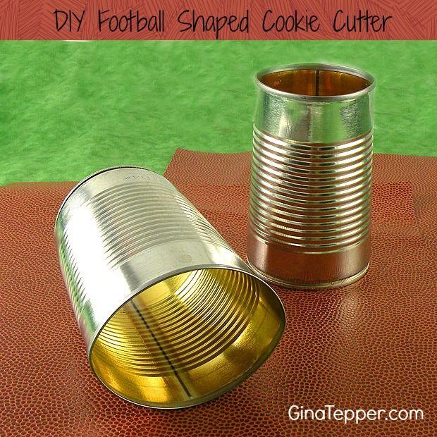 DIY Football Cookie Cutter