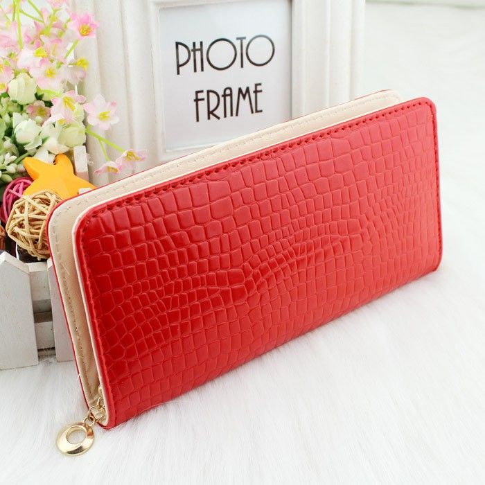Cheap bag kid, Buy Quality bag purse directly from China bag platform Suppliers: New Fashion Genuine Leather Women Wallet Solid Embossed Litchi Grain Hasp Wallets Ladies' Long Clutches Coin Purse Card