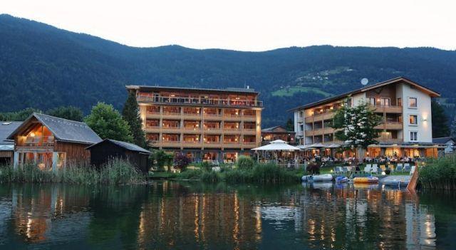 Hotel SeeRose - #Hotel - CHF 75 - #Hotels #Österreich #Bodensdorf http://www.justigo.li/hotels/austria/bodensdorf/familienhotel-seerose_46247.html