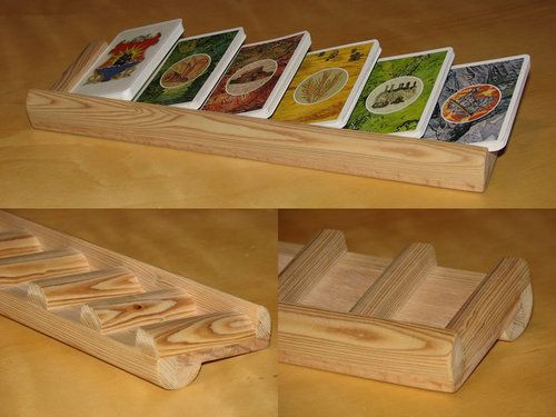 Settler of Catan board game card holders