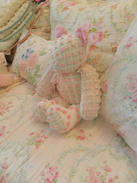 Chenille Bedspread Crafts Ideas