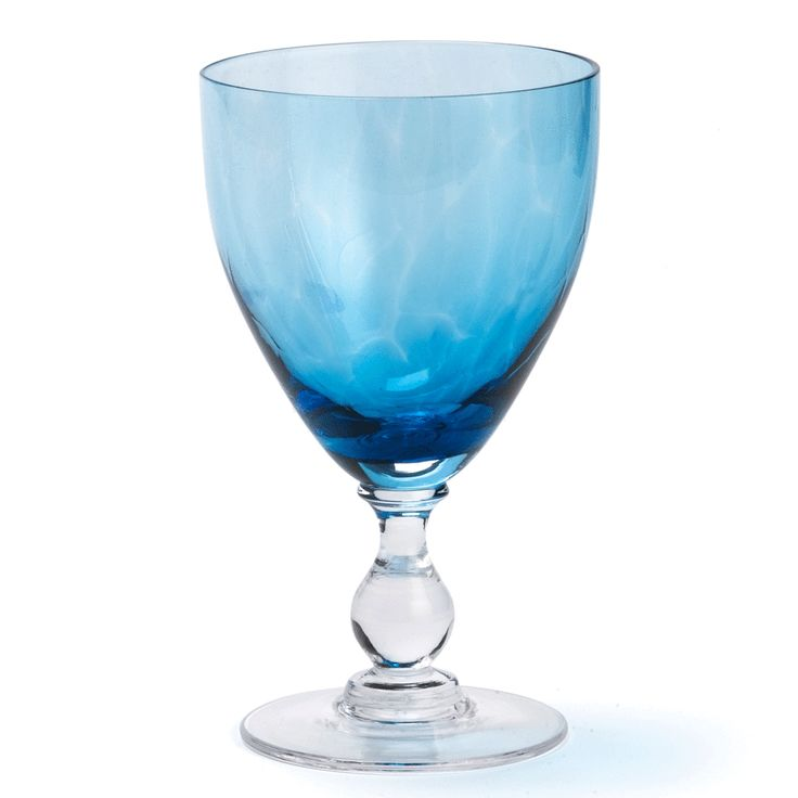 Buy Aquamarine Wine Goblet - Tabletop - Accessories - Dering Hall