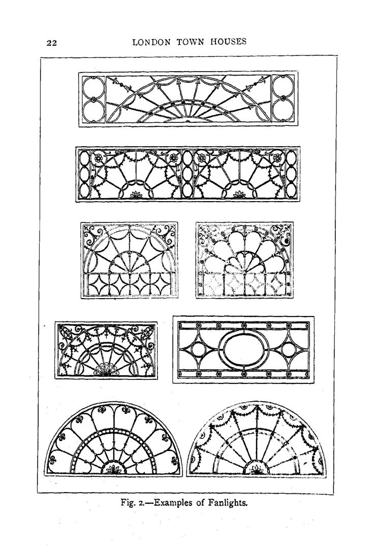 London Houses From 1660 To 1820 A Consideration... | IRON ...