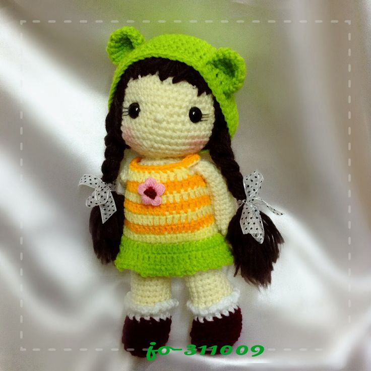 Amigurumi Hair : The 91 best images about Amigurumi Doll Hair & Others on ...