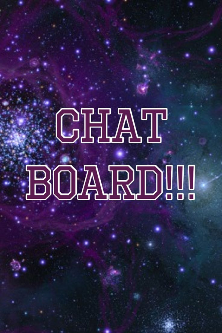 Hey! I made a chat board and I want a lot of people to join!!! I don't care what you post, just anything! Just ask and I'll totally invite you!!! Thanks, Hannah