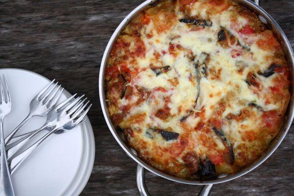 aubergine-courgette lasagne xMail, Eggplantzucchini Lasagna, Italian Dinner, Fontina, Food, Eggplants Zucchini Lasagna, Cooking, Healthy Recipe, Lasagna Recipe