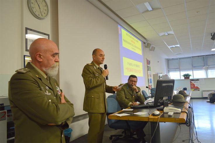 Generale Rondano Claudio e i colonnelli Fabretti Alessandro e Bubbio Massimo