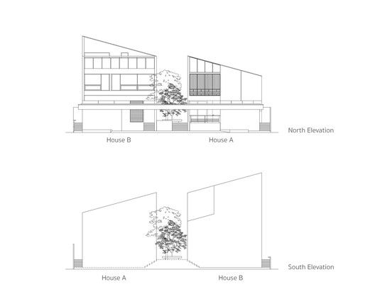 Twin House,Elevation