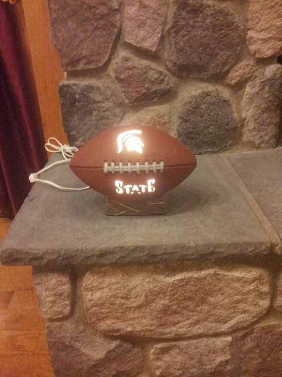 Michigan State football light by ThisIMadeForYou on Etsy, $35.00
