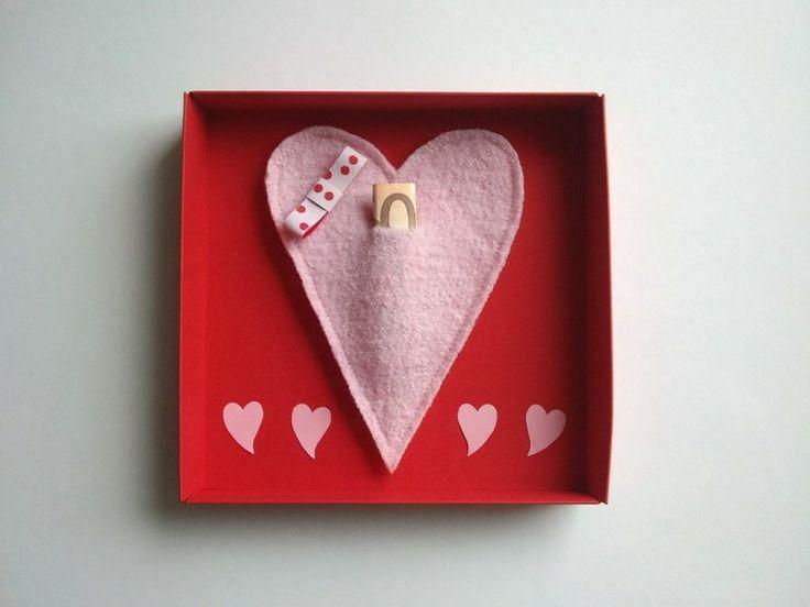 Herzen für die Herzen..und Geld, mit dem sich das Paar die tollsten Wünsche erfüllen kann. Da hüpfen die Herzen höher - so schön!