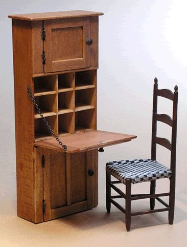 Miniature Shaker Wall Desk By Ken Byers. I Remember The Day I Got This One