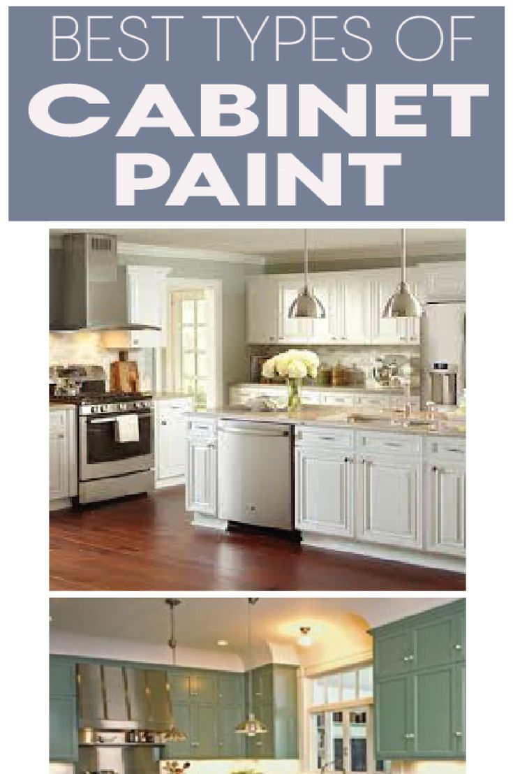 Best types of paint for your kitchen cabinets explained so you can pick the right one!