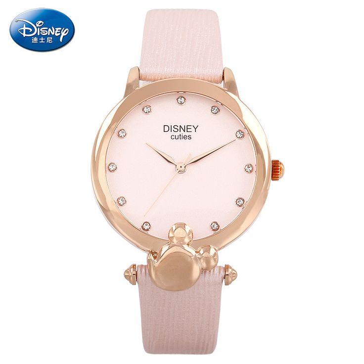 $45.98 (Buy here: https://alitems.com/g/1e8d114494ebda23ff8b16525dc3e8/?i=5&ulp=https%3A%2F%2Fwww.aliexpress.com%2Fitem%2F100-Genuine-Disney-Leather-Strap-Fashion-Casual-Ladies-Quartz-Wrist-Watch-Women-Dress-Watch-Relogio-Feminino%2F32737164471.html ) 100% Genuine Disney Leather Strap Fashion Casual Ladies Quartz Wrist Watch Women Dress Watch Relogio Feminino relojes mujer for just $45.98