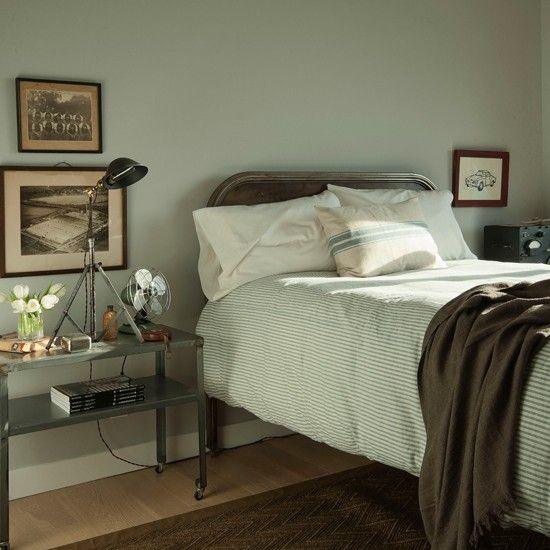 Soft green bedroom | Decorating ideas - traditional bedrooms | PHOTO GALLERY | Housetohome.co.uk