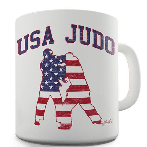 USA Judo Novelty Mug    Art can exist in new forms. What you wear can be more fun.    Now Available at http://inkrocks.com/products/usa-judo-novelty-mug?utm_campaign=social_autopilot&utm_source=pin&utm_medium=pin