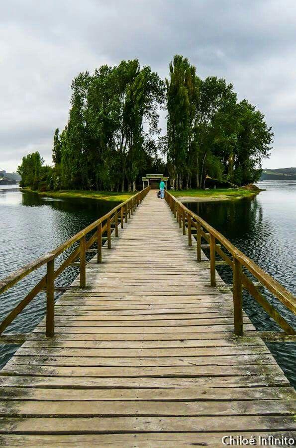 """Aucar es una pequeña isla que está cerca de Quemchi, en una comuna norteña de Chiloé. Es también llamada""""La isla de las almas navegantes""""pues un escritor chileno conocido, nacido y criado en este lugar, Francisco Coloane; la bautizó así pues asimiló la isla como un lugar donde habían muertos enterrados, esperando zarpar algún día."""
