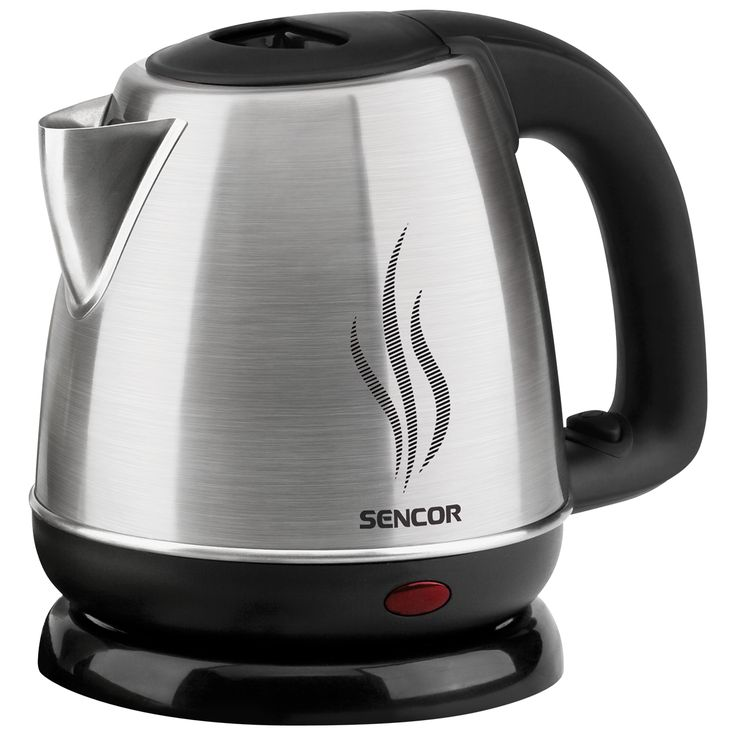 Sencor Kettle SWK 1050 - Heating base from stainless steel with a covered heating spiral - Protection against overheating when turned on without water - Central 360° connector