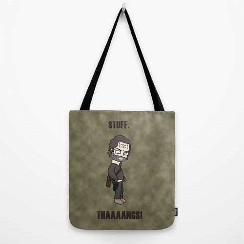 The Walking Dead Rick Grimes Stuff and Thangs by KaylieghKartoons