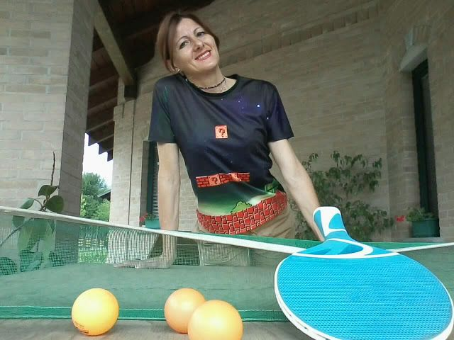 BABALUCCIA    FASHION AND MY CHIC IDEAS  : IL PING PONG SFIDA I VIDEO GIOCHI - GAMES TEE #OOT...