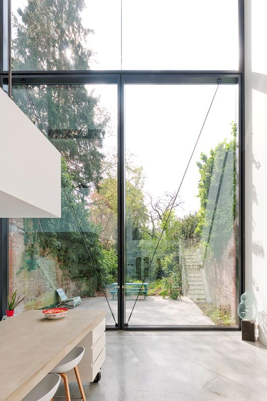 Town House in Antwerp / Sculp[IT] | ArchDaily