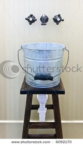 Galvanized Utility Sink : ... Sinks, Galvanized Buckets, Half Bath, Galvanized Tubs, Laundry Rooms
