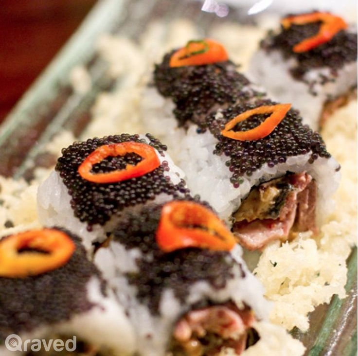 Black Pearl at Sushi Groove Grand Indonesia