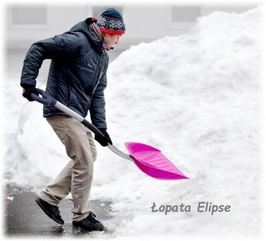 Łopaty Elipse #zima #odśnieżanie #łopaty #maxpol #hagsen #domelo #zgarniacze #łopaty samochodowe #podjazd #dom #garaż