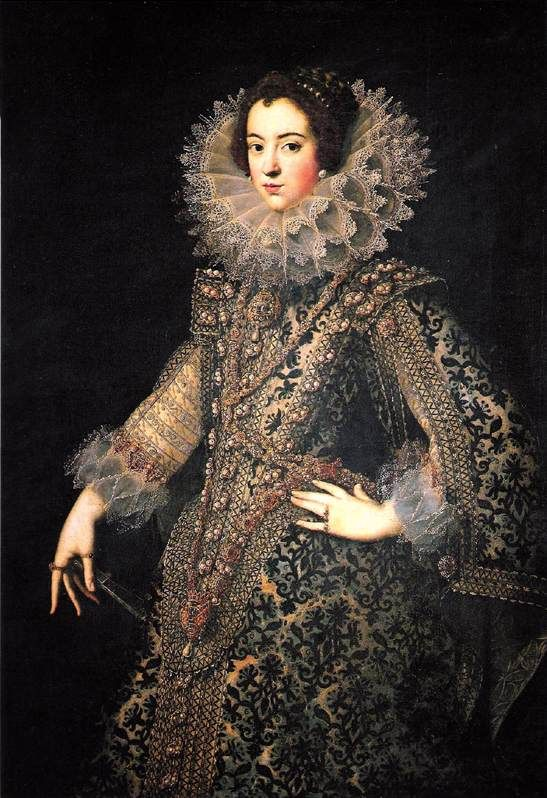 Isabel de France by Rodrigo de Villandandro, 1621