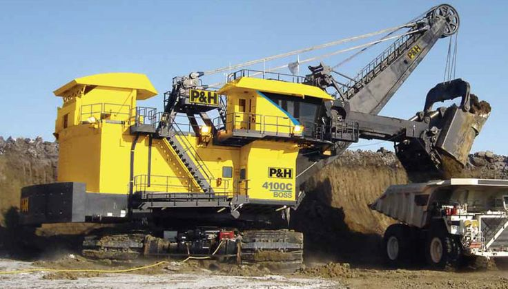 Mining Shovels | L&H Industrial