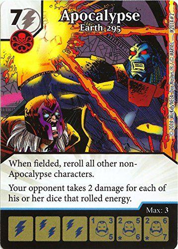 Marvel Dice Masters: Age of Apocalypse Promo Card: Apocalypse - Earth 295