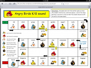Angry Birds Articulation Games -  Pinned by @PediaStaff – Please Visit http://ht.ly/63sNt for all our pediatric therapy pins: Speech Language, Website, Speech Therapy, Boards Games, Birds Articulation, Angry Birds, Birds Games, Therapy Ideas, Articulation Games