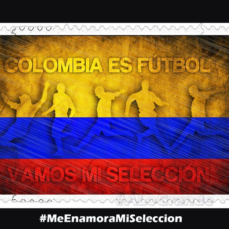 Con toda la energía y el amor por la bandera, apoyando a la @FCFSeleccionCol #MeEnamoraMiSeleccion