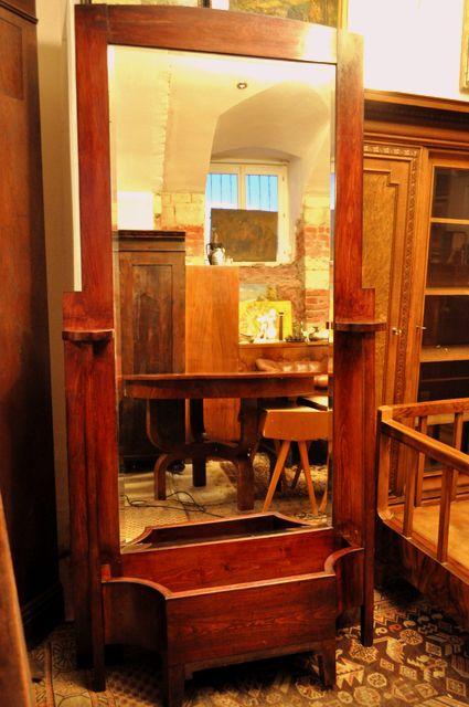 Secesní velké zrcadlo, www.ceskestarozitnosti.cz