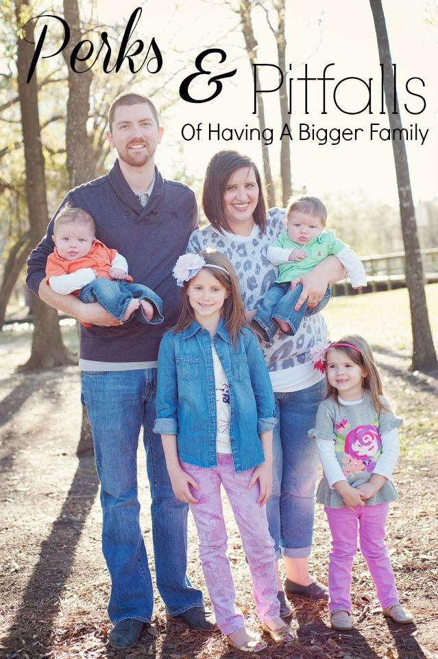A humorous approach to the perks and pitfalls of having a bigger family
