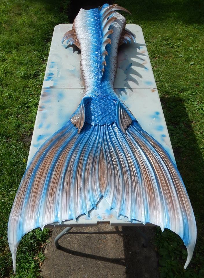 Merman/mermaid tail by Finfolk Productions. www.facebook.com/FinfolkProductions