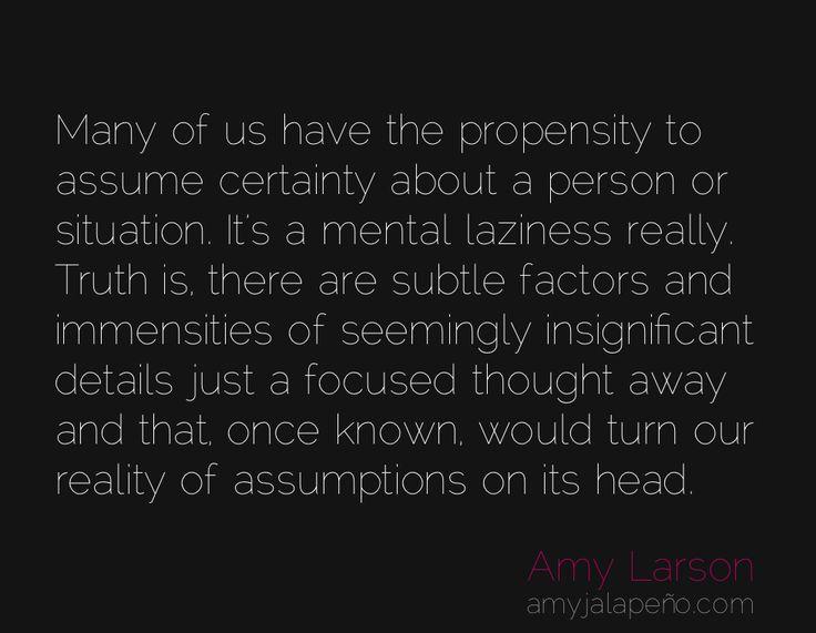 Best 25+ Assumption Quotes Ideas On Pinterest