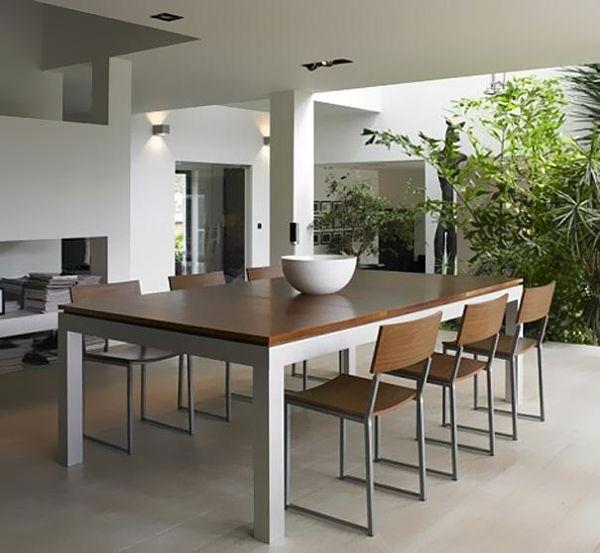 Un tavolo da pranzo ibrido