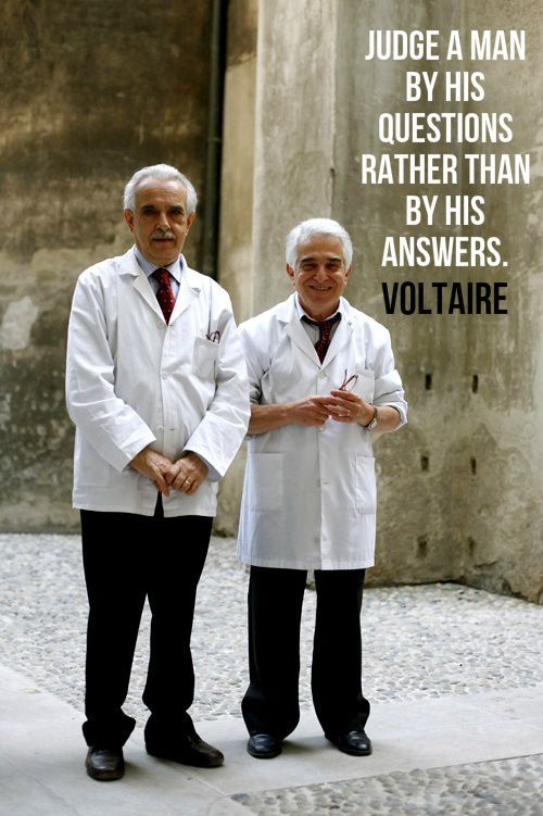 """""""Judge a man by his questions rather than by his answers."""" - Voltaire"""