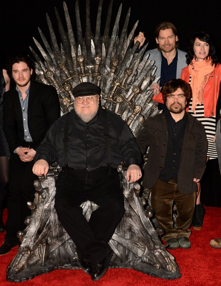 Fall in even more in love with George R.R. Martin, the guy who wrote Game of Thrones.
