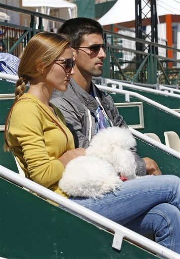 Nole, Jelena and Pierre watching France/USA Davis CupNovak Djokovic, Tennis Addict, Watches France Usa, France Usa Davis, Social Tennis, Tennis Players, Pierre Watches, Davis Cups, Tennis Network
