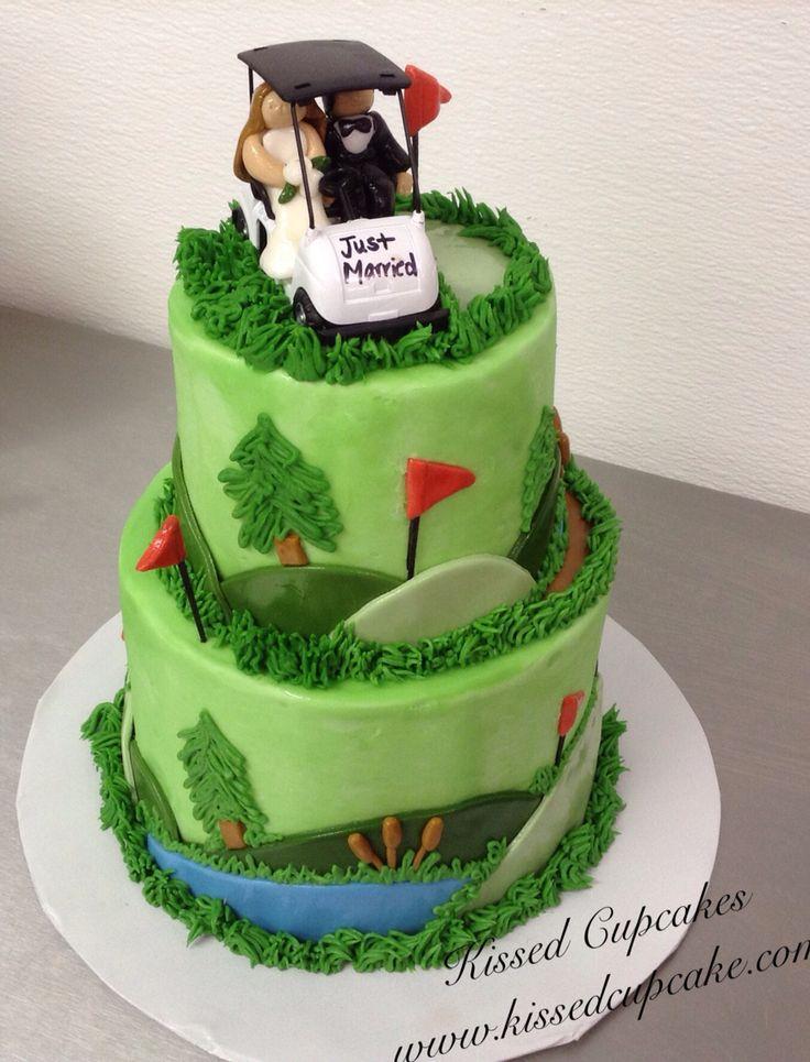 Golf themed grooms cake.