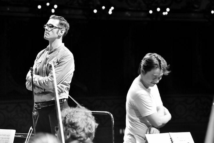 """Prova Orchestra del Conservatorio """"A. Boito"""" - Francesco Cilluffo (foto Annalisa Andolina)"""